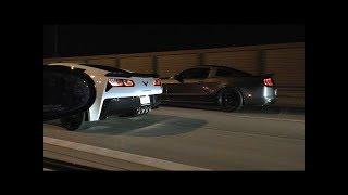 2015 Roush Mustang GT vs 2016 ZO6