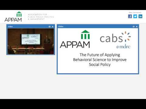 The Future of Applying Behavioral Science to Improve Social Policy