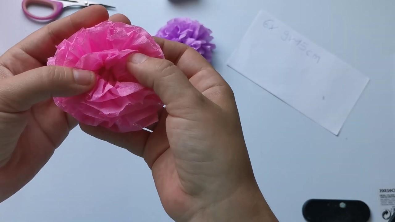 Papier Blumen Schnell Und Einfach Selber Basteln Anleitung Tutorial