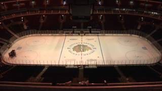 2013 Stanley Cup Playoffs: Ice Timelapse