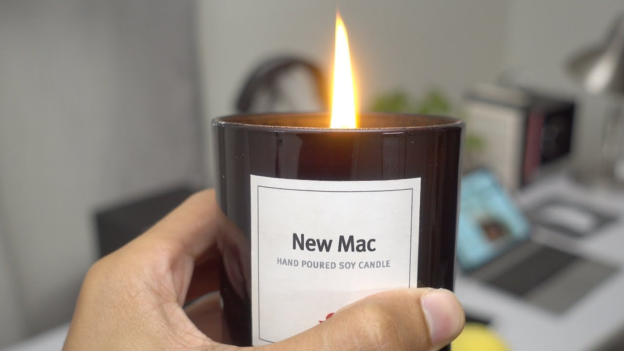 Does the Twelve South New Mac Candle really smell like a ...
