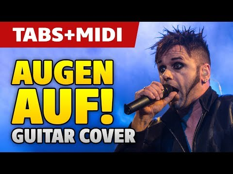 Oomph! – Augen Auf! Guitar Cover (fingerstyle guitar tabs and midi)