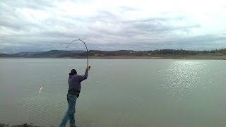Крым зимой. Ялта зимой. Зимняя рыбалка в чёрном море.