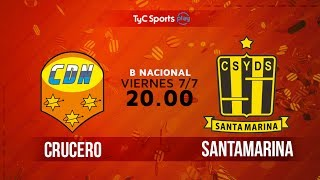 Crucero del Norte vs Deportivo Santama. full match