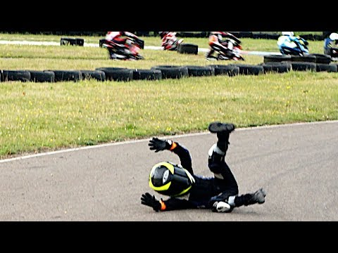 Moto GP for Kids from Age of 6: 2017 British Minibikes Championship: Rd 5, Rookies