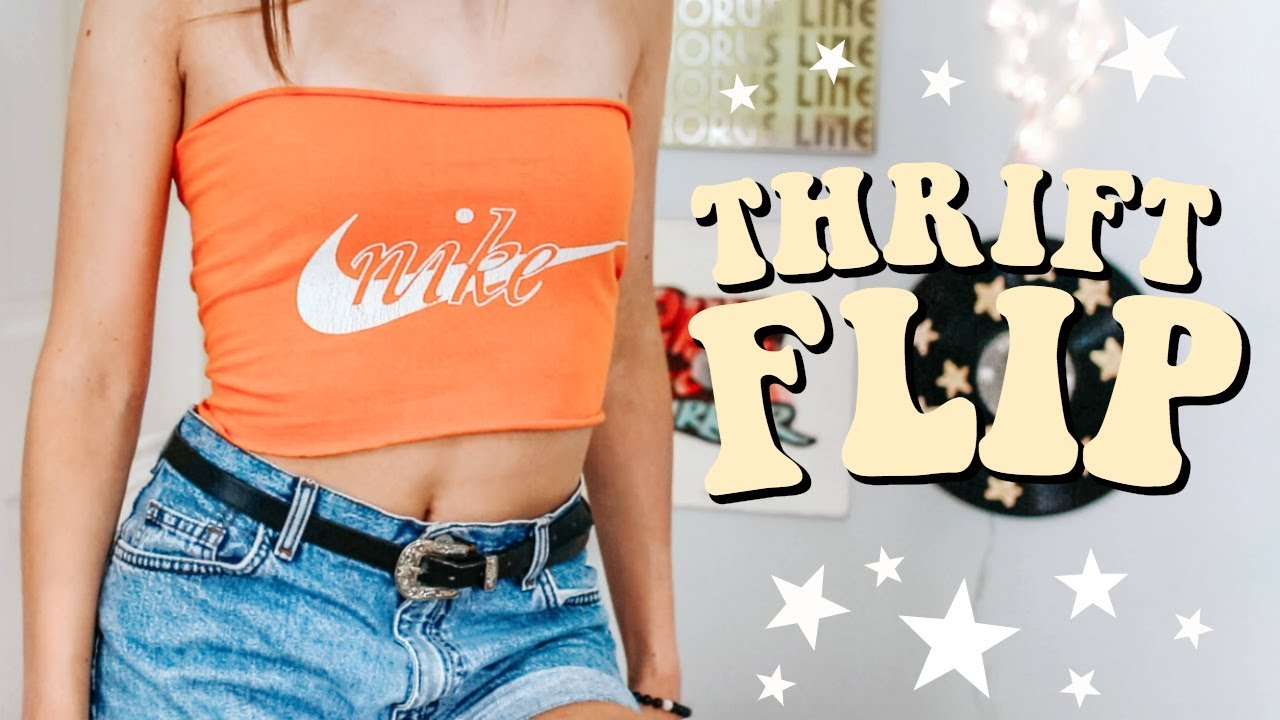 [VIDEO] - THRIFT FLIP WITH ME | diy thrifted clothes! (EP. 3) 4