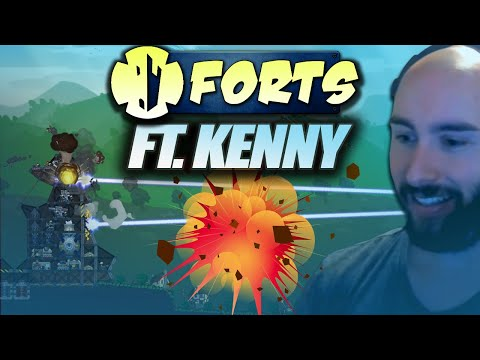 Vidéo d'Alderiate : [FR] ALDERIATE & KENNY - DECOUVERTE D'UN JEU TRES FUN - FORTS