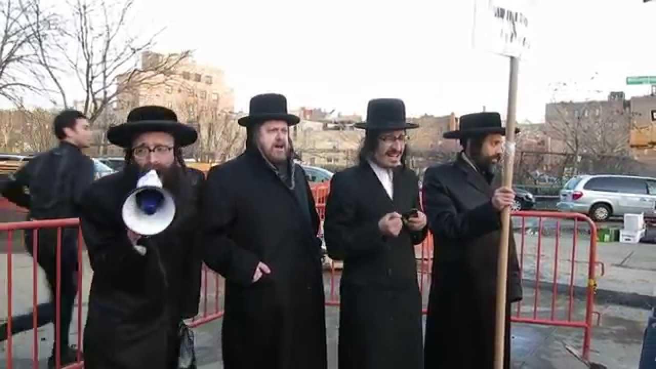 Max Shemesh: Protests In Williamsburg Against Moshe Shternbuch For