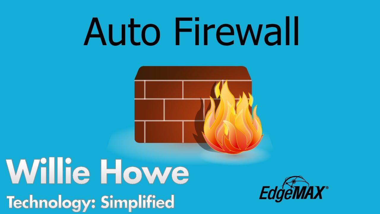 EdgeOS - EdgeRouter - Auto Firewall Demo