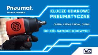 Klucze udarowe pneumatyczne: klucz udarowy do kół samochodowych CP7748, CP7749, CP734H, CP7769
