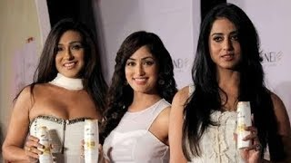 HOT Rituparna Sengupta Yami Gautam amp; Mahi Gill Launches Pantene New Live Hair Dares