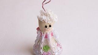 Іграшка-лялька своїми руками: Miadolla - зачіски для лялечки кучері з пряжі.