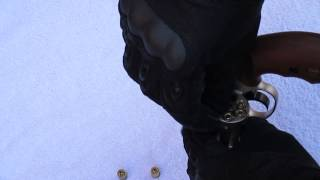 Colt Detective Special Kaliber 9mm R.K. Schusstest