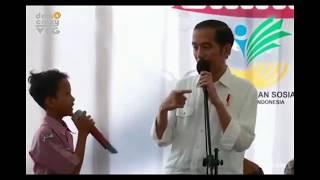 INYONG KENCOT..!! Presiden Jokowi Belajar Bahasa Ngapak