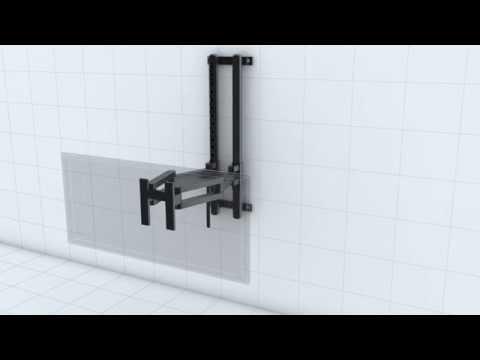 Thiết kế khung treo tivi 3D