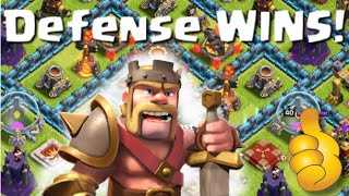 Clash of Clans | Town Hall 10 Defense WINS | Defeating Top Players and Attacks