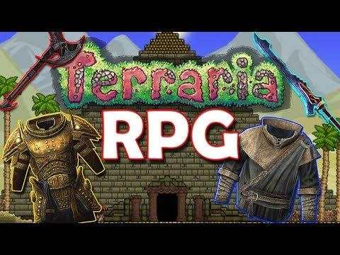 ЧТО ЕСЛИ ПРЕВРАТИТЬ ТЕРРАРИЮ В RPG? ОБЗОР ROCKOS ARPG!