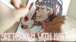 Sketchjam with Ham #5 - Cakes and Sweets.