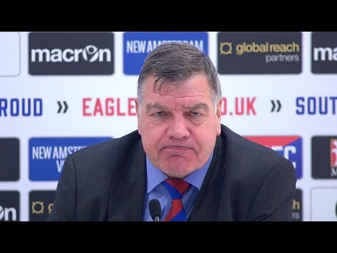 Crystal Palace 0-3 Manchester City - Sam Allardyce Full Post Match Press Conference - FA Cup