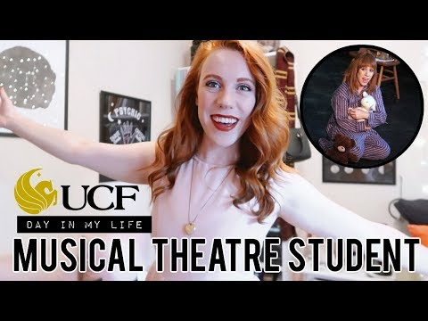 Day in My Life as a MUSICAL THEATRE Student | UCF ⚡️