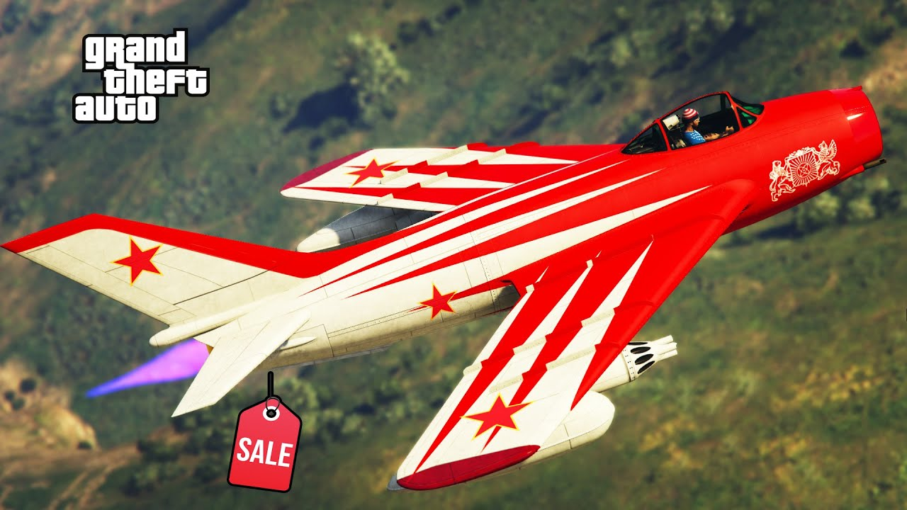 V-65 Molotok Review & Best Customization SALE NOW! GTA 5 Online Russian Fighter Jet  WORTH? NEW!