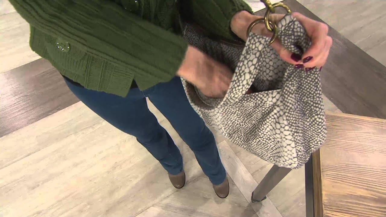 Travelon East West Satchel Handbag With Rfid On Qvc