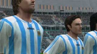 Pro Evolution Soccer 2006 - Classic Argentina vs Classic Germany