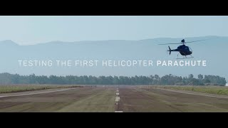 The first helicopter with a parachute | Zefhir by Curti Aerospace Division