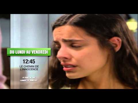 Spot TV  LE CHEMIN DE L'INNOCENCE du Lundi au Vendredi à 12:45 sur RTI 2