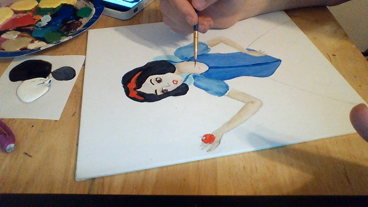 Disney Princess Painting Snow White YouTube