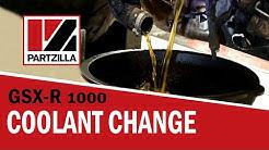 GSXR Coolant Change   Suzuki GSX-R1000   Partzilla.com