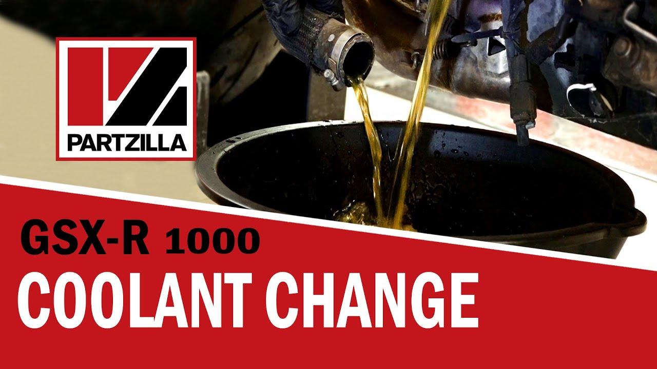 Gsxr Coolant Change Suzuki Gsx R1000 Partzillacom Youtube Wiring Diagrams 95 750 On Hayabusa Diagram For