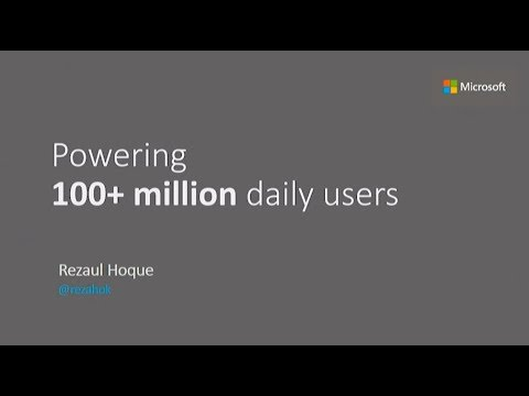 Powering 100+ million daily users - Rezaul Hoque