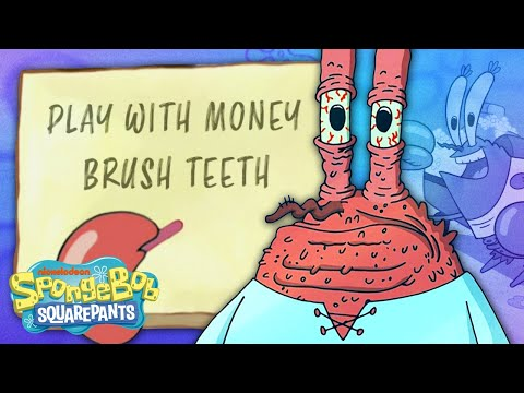 An Entire Day With MR. KRABS ☀️ Hour By Hour! | SpongeBob