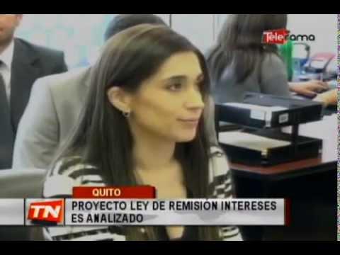 Proyecto ley de remisión intereses es analizado
