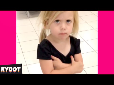 Whatever it is, She is OVER IT 🤣 | Baby Cute Funny Moments | Kyoot
