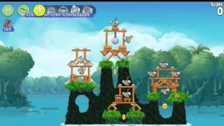 Angry Birds Rio Treasure hunt All levels
