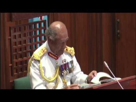 Fijian President H.E Ratu Epeli Nailatikau Parliament Address 2014