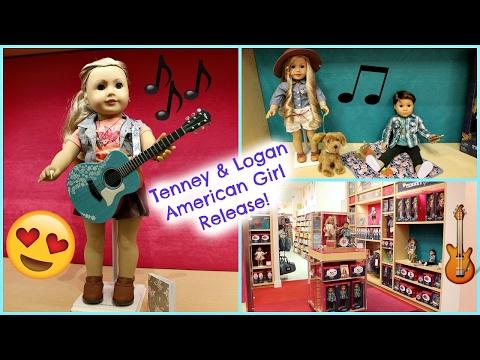 American Girl Doll Tenney & Logan Release | AGP Tour Vlog!🎵