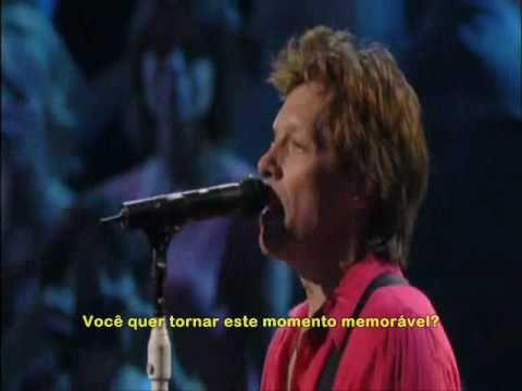Bon Jovi - You Want To Make A Memory - Legendado PT-BR