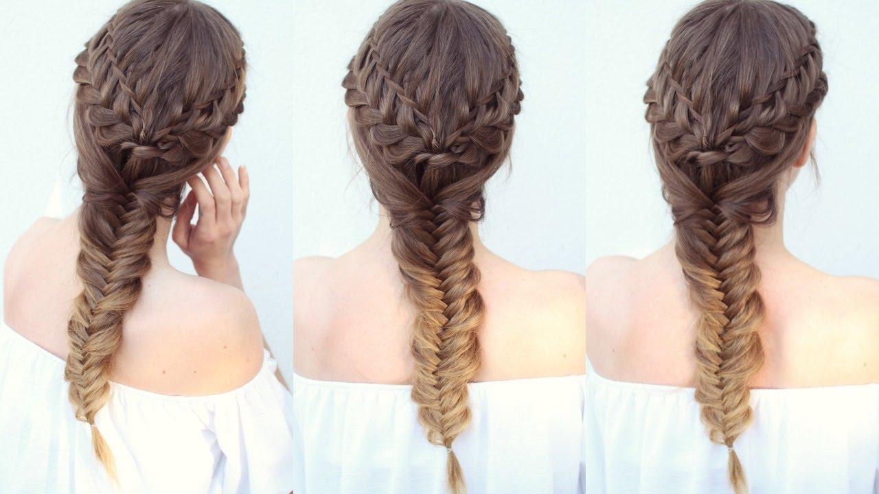 pretty braided hairstyle braids