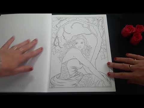 Gothic Dark Fantasy Selina Fenech Coloring Book For Adults