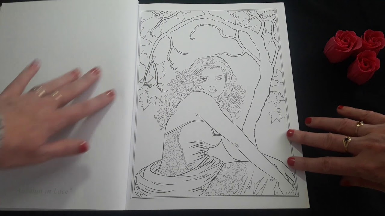 - Gothic - Dark Fantasy Selina Fenech ,Coloring Book For Adults