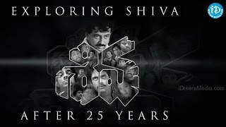 A few excerpts exploring shiva movie || celebrating 25 years