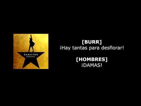 1.09 A Winter's Ball - Hamilton (Sub. Español)