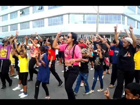 WOWS TONGA Flash Mob!
