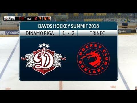 2018 Davos Hockey Summit: Dinamo Riga - Ocelari Trinec