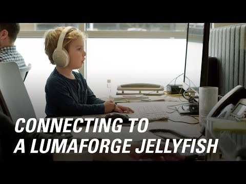 Jellyfish Connect – So Easy a 4 Year Old Can Use It