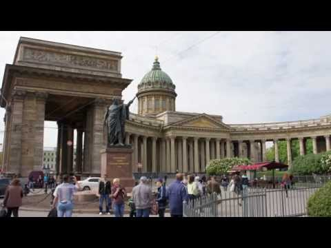 Saint Petersburg Kazan's Cathedral slide-show