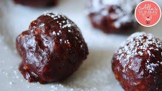 How To Make Raw Chocolate Truffles - Шоколадные трюфели